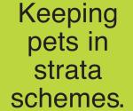 Strata schemes